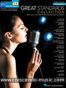 Pro Vocal Women's Edition - Vol.51: Great Standards Collection. Album