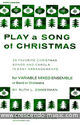 Play a song of Christmas - Percussion and bells