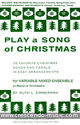 Play a song of Christmas - Melody and accompaniment (chords)